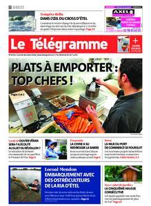 Le Télégramme Landerneau - Lesneven – 28 décembre 2020