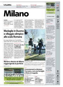 la Repubblica Milano - 4 Luglio 2018
