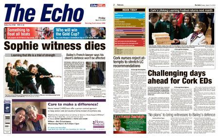 Evening Echo – March 15, 2019