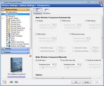 Actual Transparent Window 8.14.1 Multilingual