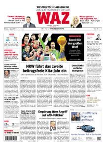 WAZ Westdeutsche Allgemeine Zeitung Oberhausen-Sterkrade - 09. Januar 2019