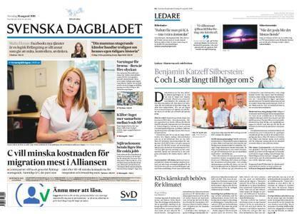 Svenska Dagbladet – 16 augusti 2018