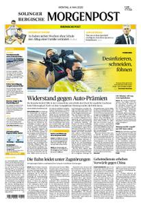 Solinger Morgenpost – 04. Mai 2020
