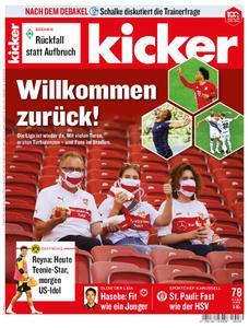Kicker – 21. September 2020