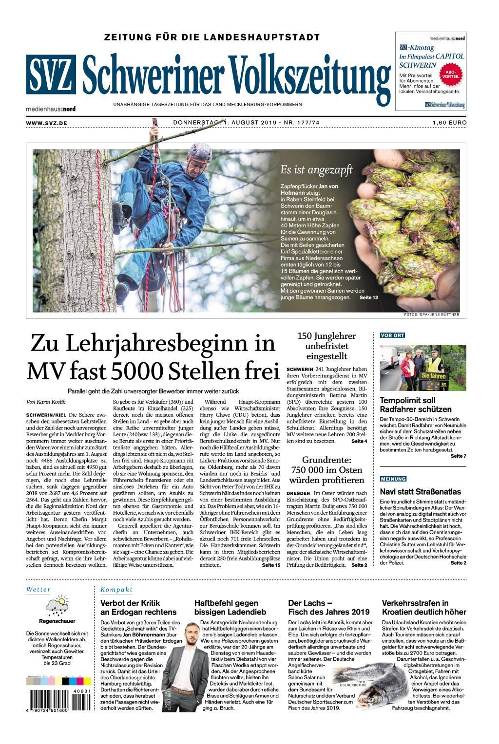 Schwerin Volkszeitung