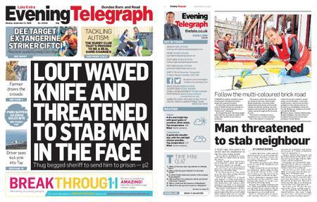 Evening Telegraph Late Edition – September 21, 2020