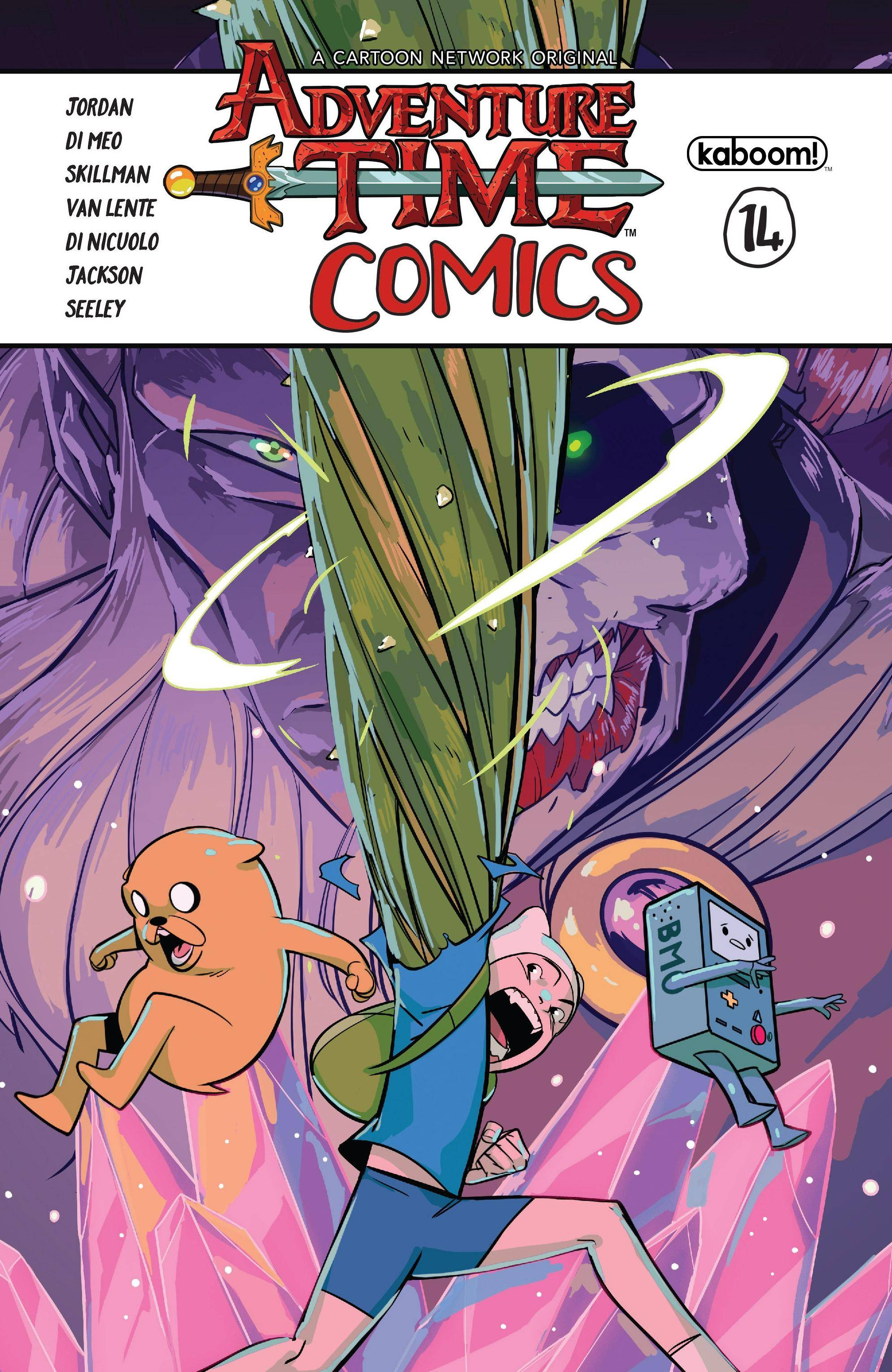 0-Day 2017 10 18 - Adventure Time Comics 014 2017 digital Salem-Empire cbr
