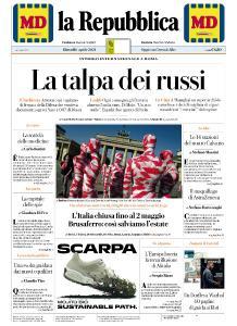 la Repubblica - 1 Aprile 2021