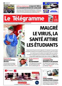 Le Télégramme Brest – 28 mai 2021