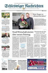 Schleswiger Nachrichten - 07. Dezember 2017