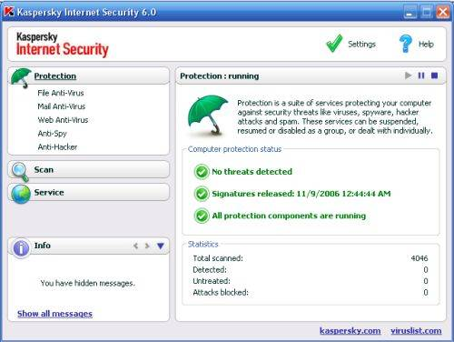 Kaspersky Internet Security 6.0.1.402