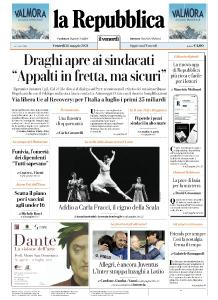 la Repubblica - 28 Maggio 2021