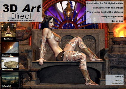 3D Art Direct Magazine Issue 7 March 2011