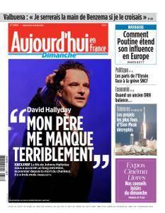 Aujourd'hui en France du Dimanche 18 Mars 2018