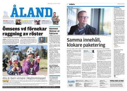 Ålandstidningen – 30 april 2018