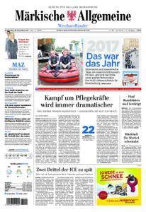 Märkische Allgemeine Westhavelländer - 28. Dezember 2017