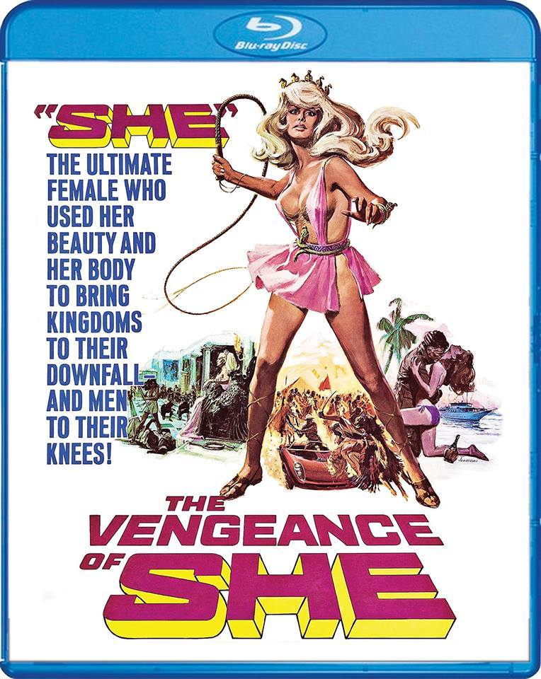 The Vengeance of She (1968) + Extra [w/Commentary]
