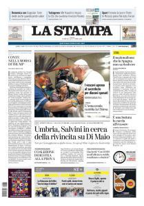 La Stampa Torino Provincia e Canavese - 27 Ottobre 2019