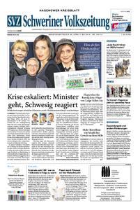 Schweriner Volkszeitung Hagenower Kreisblatt - 30. April 2019