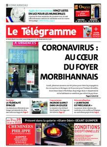 Le Télégramme Concarneau – 03 mars 2020