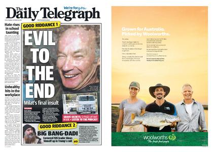 The Daily Telegraph (Sydney) – October 28, 2019