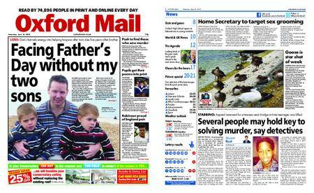 Oxford Mail – June 16, 2018