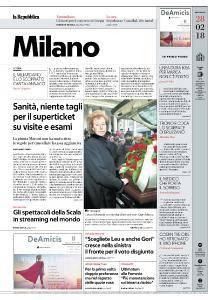 la Repubblica Milano - 28 Febbraio 2018