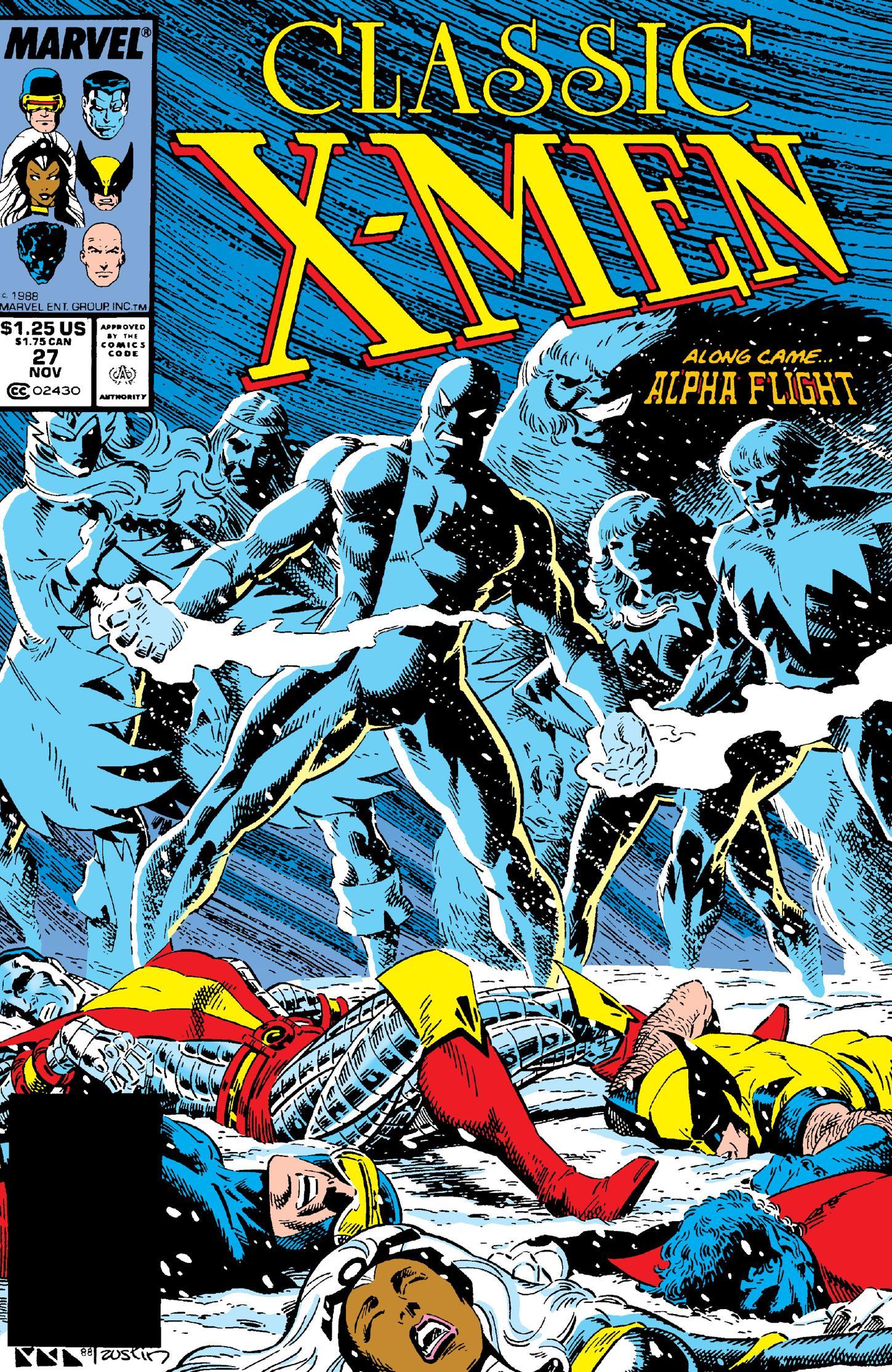Classic X-Men 027 1988 Digital Shadowcat