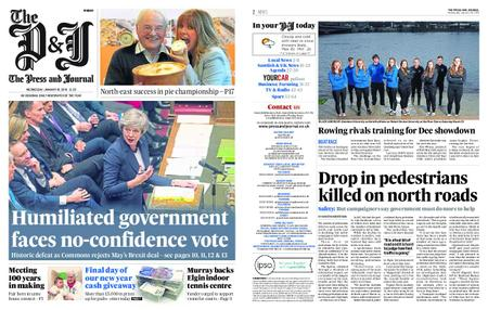 The Press and Journal Moray – January 16, 2019