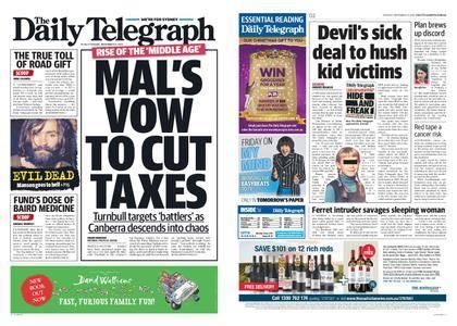 The Daily Telegraph (Sydney) – November 21, 2017