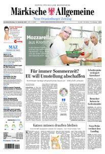 Neue Oranienburger Zeitung - 01. September 2018