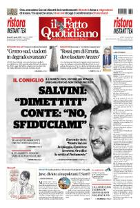 Il Fatto Quotidiano - 09 agosto 2019