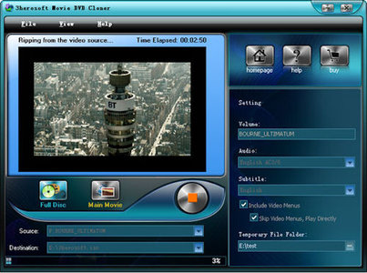 3herosoft Movie DVD Cloner v3.3.1.0731 Portable