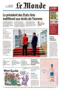 Le Monde du Jeudi 21 Juin 2018