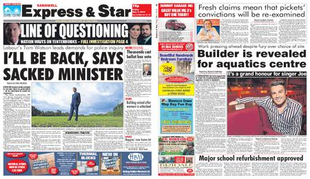 Express and Star Sandwell Edition – May 03, 2019