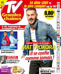 TV Grandes chaînes - 18 Septembre 2021