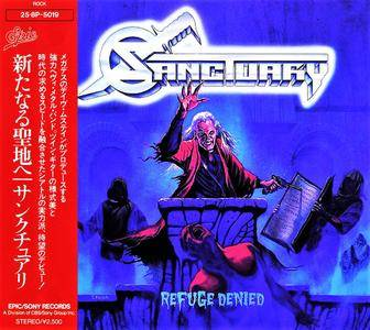 Sanctuary - Refuge Denied (1987) [Japan 1st Press, 1988]