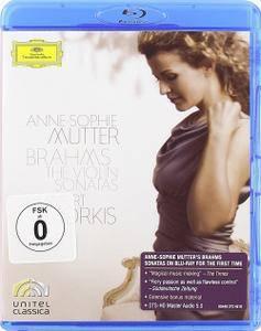 Anne-Sophie Mutter: Brahms - The Violin Sonatas (2010) [BDRip 720p]