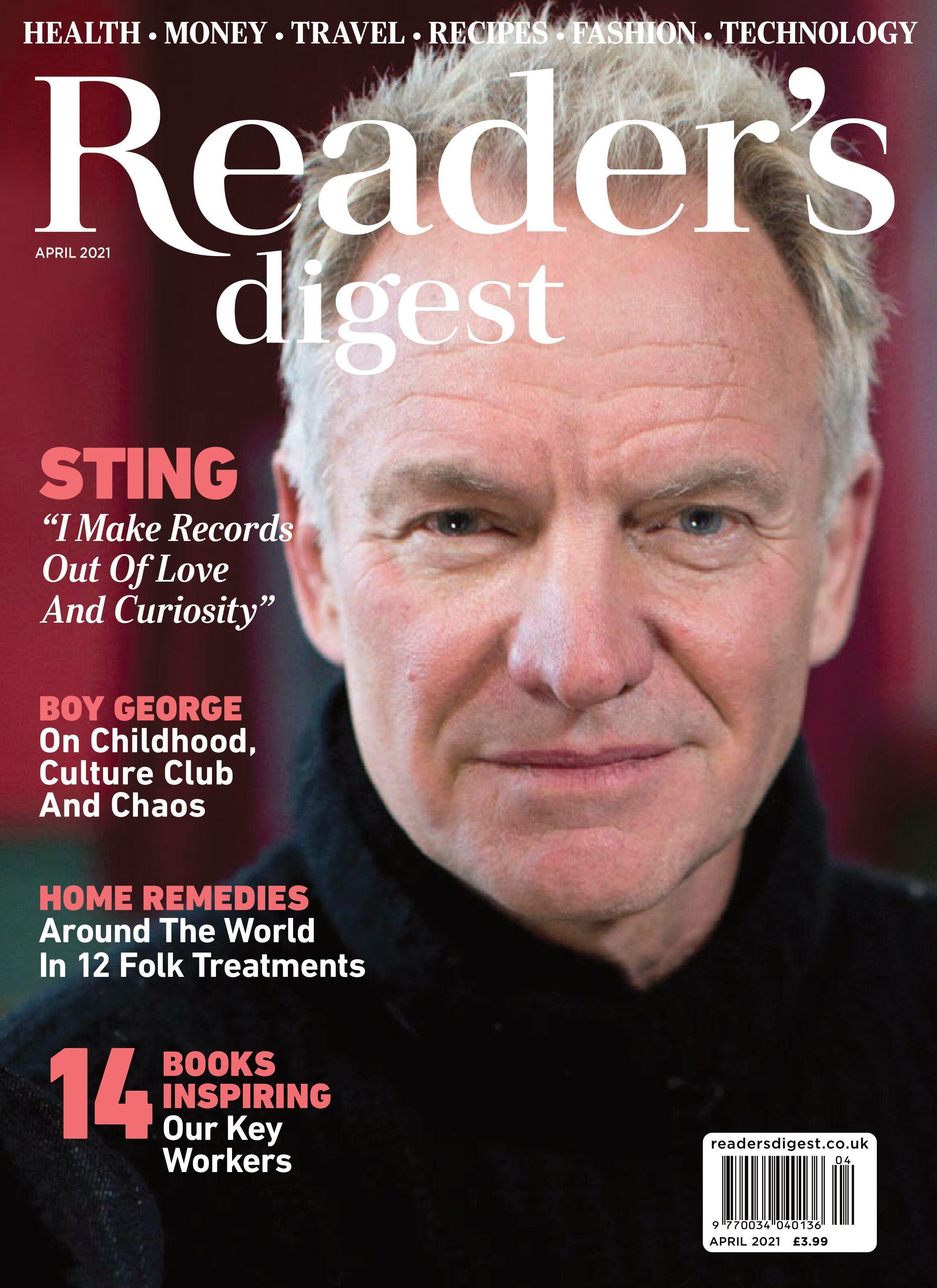 Reader's Digest UK – April 2021