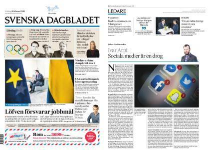 Svenska Dagbladet – 10 februari 2018