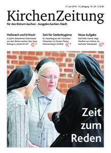 KirchenZeitung für das Bistum Aachen – 21. Juli 2019