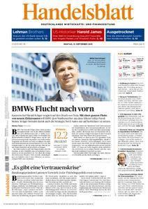 Handelsblatt - 12. September 2016