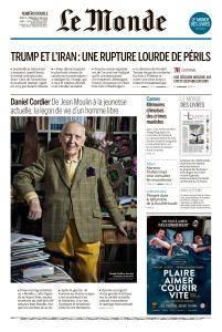 Le Monde du Jeudi 10 et Vendredi 11 Mai 2018