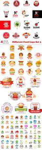 Vectors - Different Food Logo Set 3