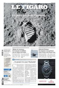 Le Figaro du Samedi 20 et Dimanche 21 Juillet 2019