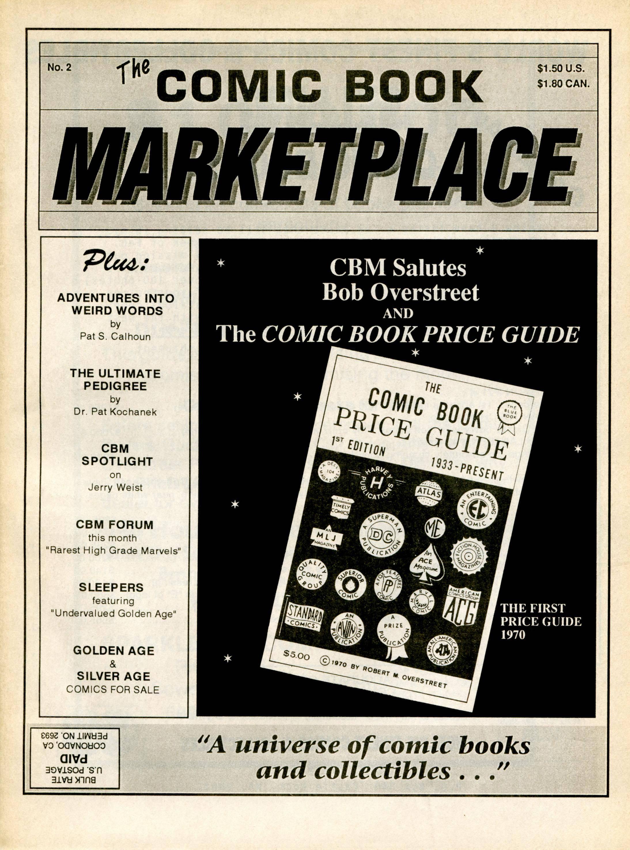 Comic Book Marketplace 002 1991