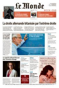 Le Monde du Samedi 8 Septembre 2018