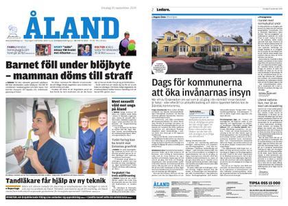 Ålandstidningen – 25 september 2019