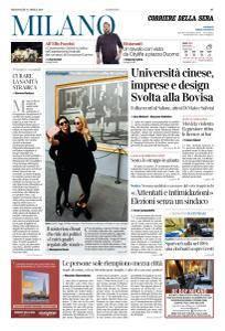 Corriere della Sera Milano - 18 Aprile 2018