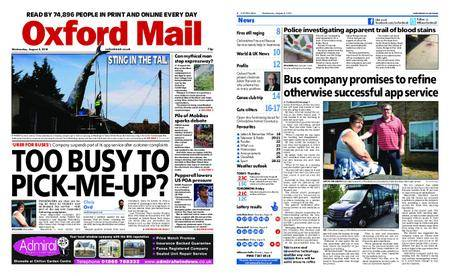 Oxford Mail – August 08, 2018